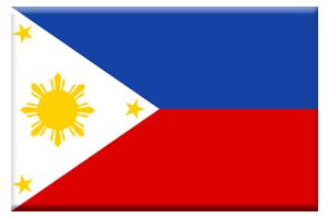 フィリピン国旗ボタン