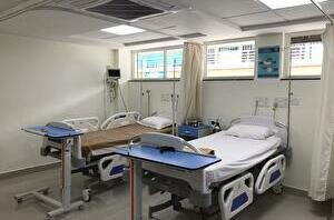 ザイダスホスピタル病室